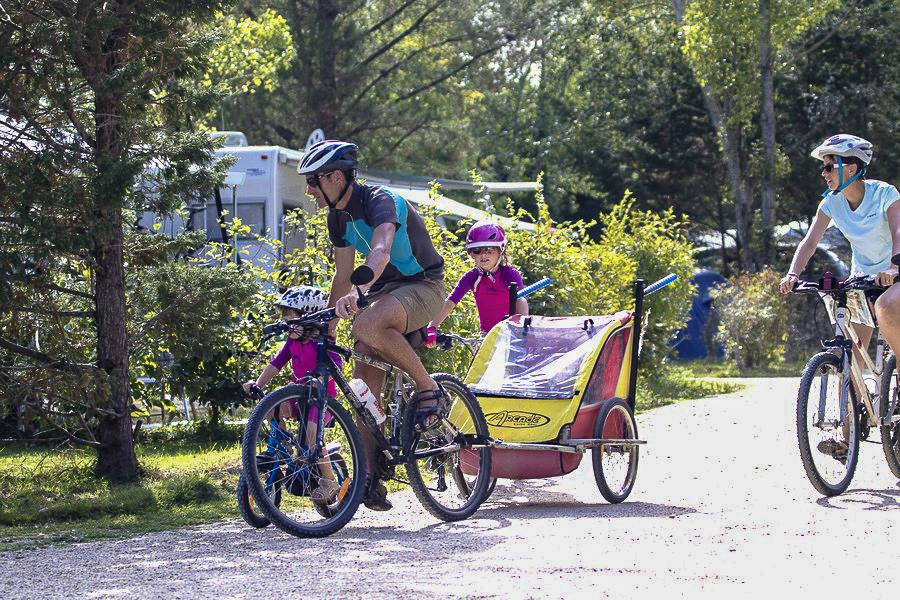 Bike hire in Moulin de Cantizac campsite