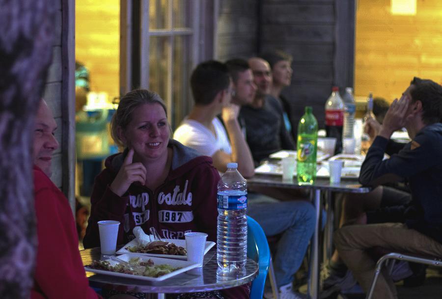 Catering of campsite Moulin de Cantizac