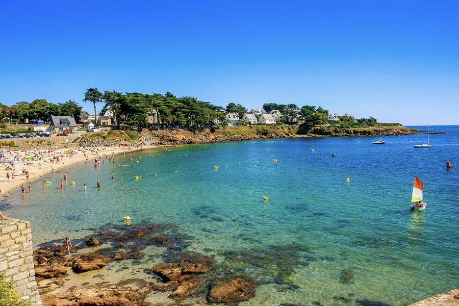 Campsite located in the Gulf oh Morbihan