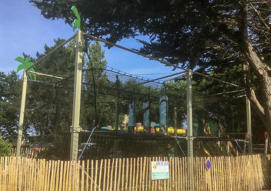 Play area of Camping du Moulin de Cantizac