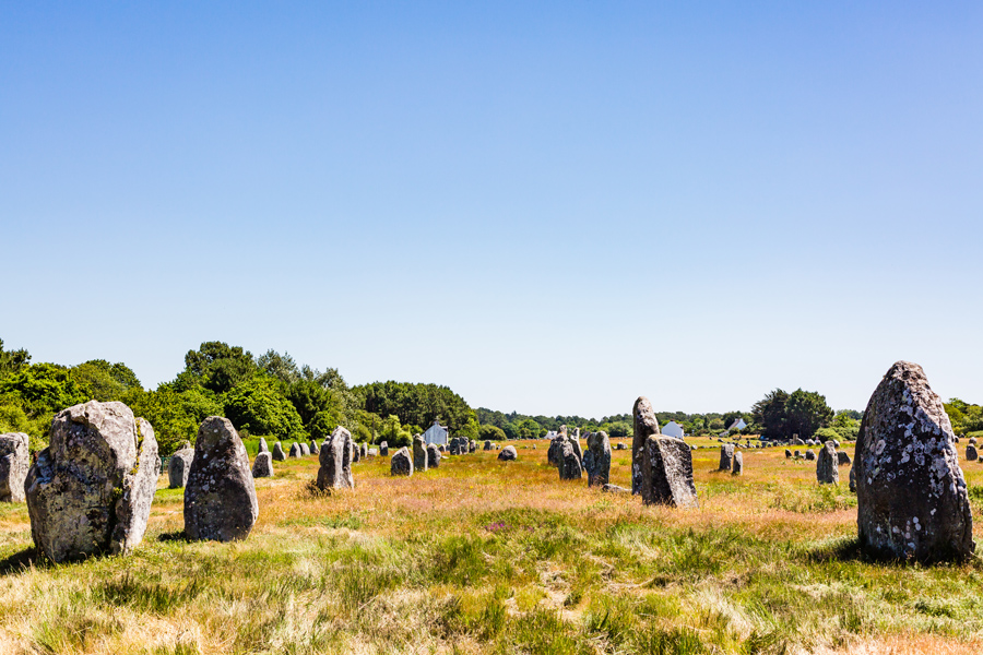 The menhirs of Carnac