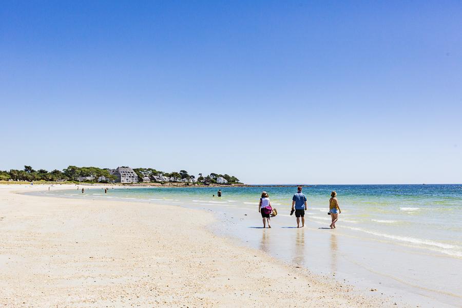Ocean side to the Gulf of Morbihan