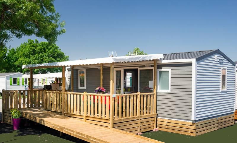 Descubra la casa móvil con fácil acceso - Camping du Moulin de Cantizac, Golfo de Morbihan